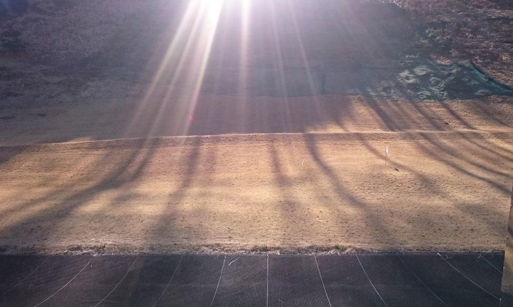 桜ヒルズゴルフクラブ(旧秋山カントリークラブ)の練習場
