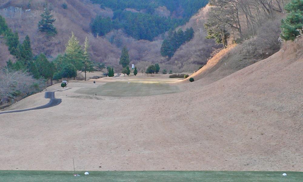 桜ヒルズゴルフクラブ(旧秋山カントリークラブ)インコース10番ホール
