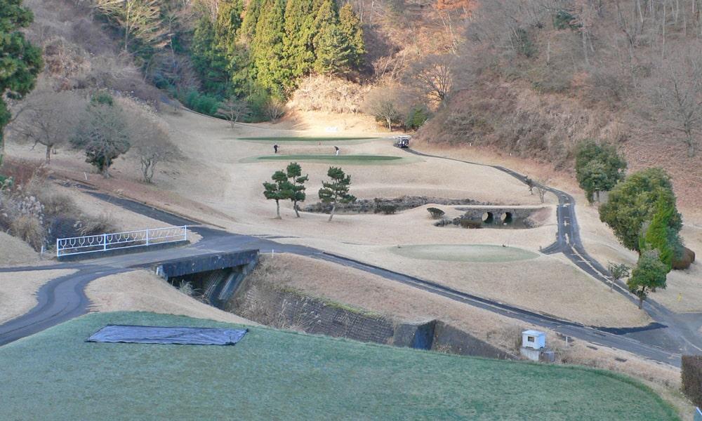 桜ヒルズゴルフクラブ(旧秋山カントリークラブ)インコース11番ホール
