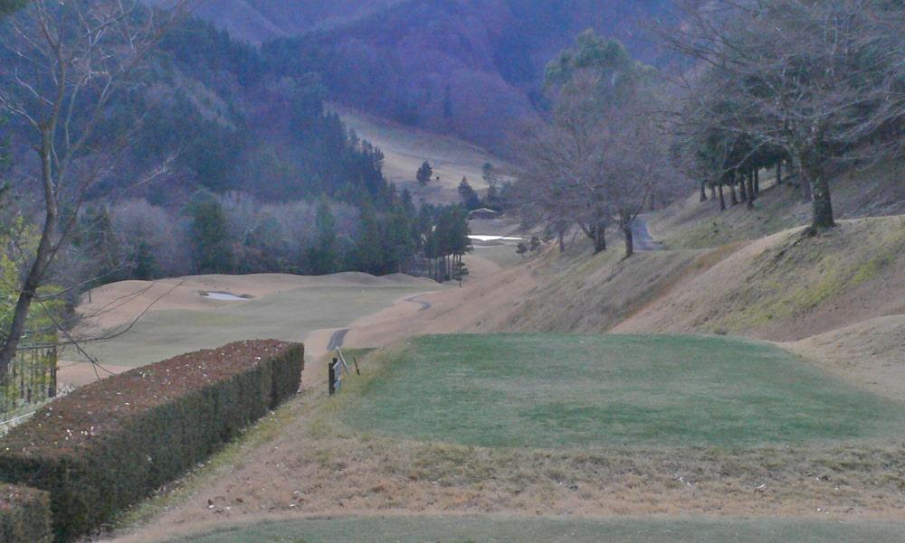 桜ヒルズゴルフクラブ(旧秋山カントリークラブ)インコース14番ホール