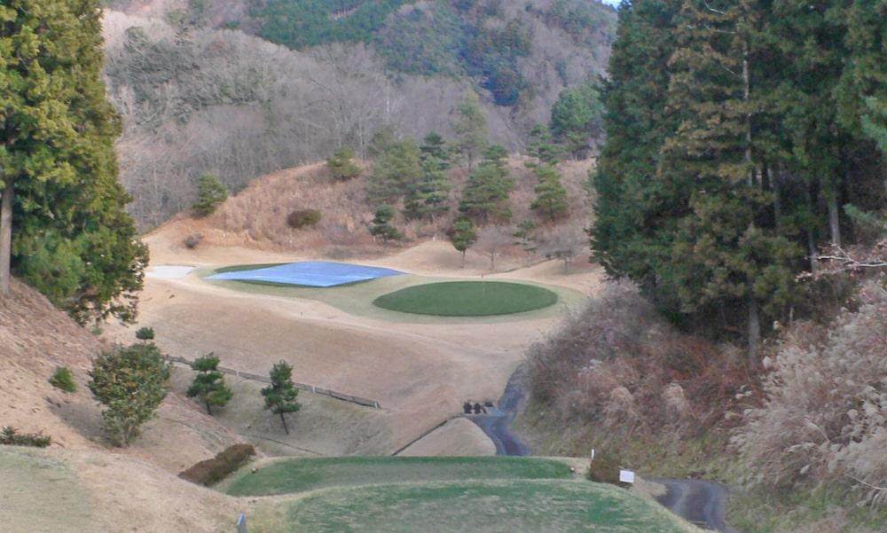 桜ヒルズゴルフクラブ(旧秋山カントリークラブ)インコース15番ホール