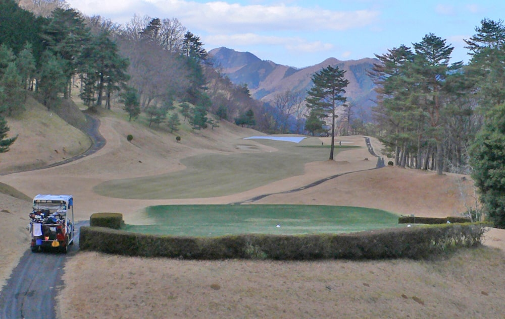 桜ヒルズゴルフクラブ(旧秋山カントリークラブ)アウトコース2番ホール