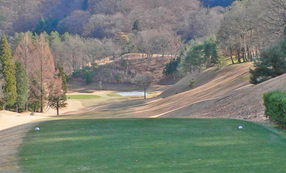 桜ヒルズゴルフクラブ(旧秋山カントリークラブ)アウトコース3番ホール