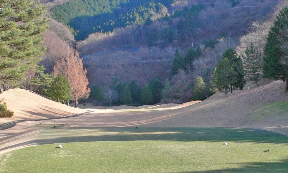 桜ヒルズゴルフクラブ(旧秋山カントリークラブ)アウトコース5番ホール