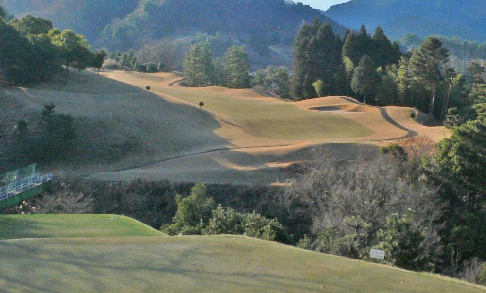 桜ヒルズゴルフクラブ(旧秋山カントリークラブ)アウトコース9番ホール