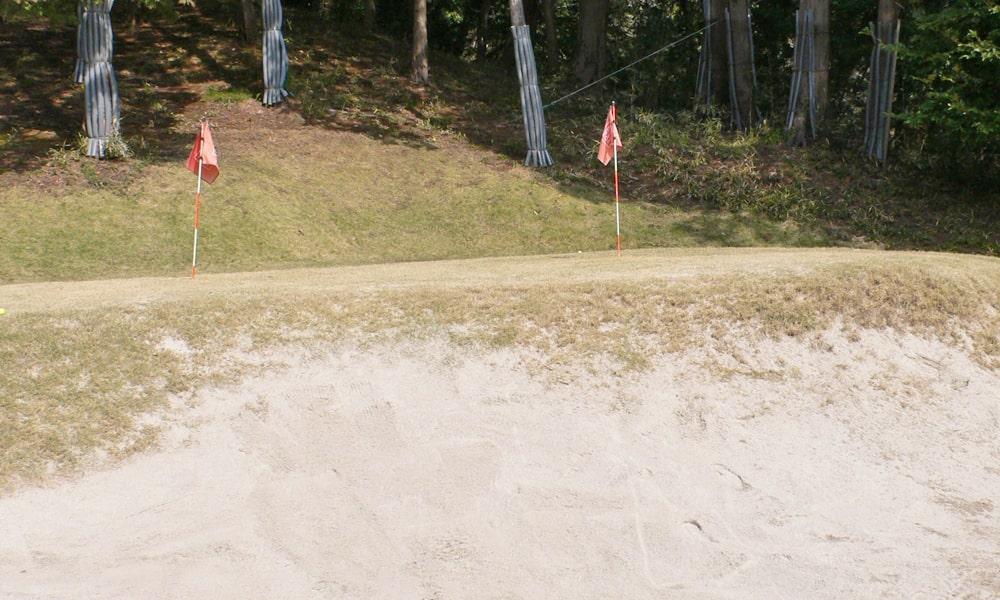 立野クラシック・ゴルフ倶楽部のバンカー練習場