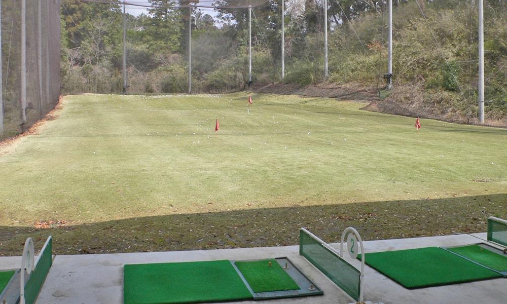 立野クラシック・ゴルフ倶楽部の練習場