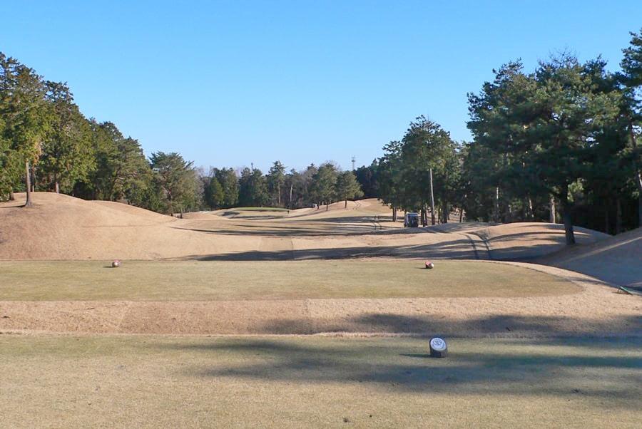 武蔵丘ゴルフコース INコース10番ホール