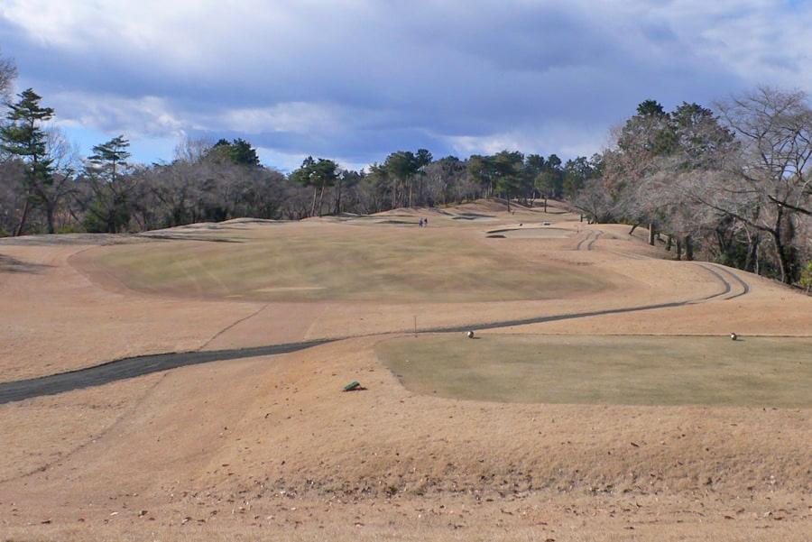 武蔵丘ゴルフコース INコース14番ホール