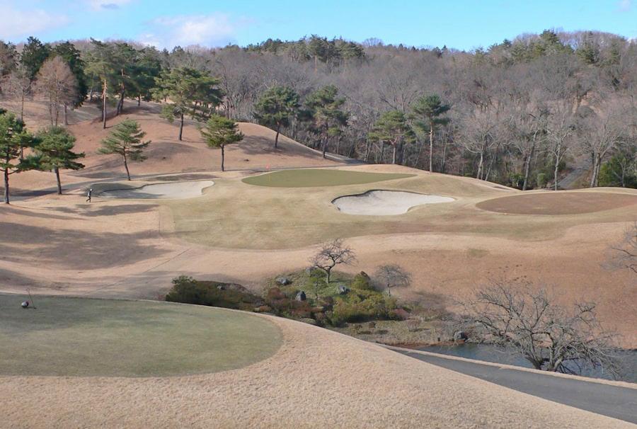 武蔵丘ゴルフコース INコース15番ホール