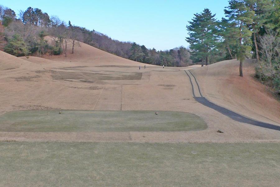 武蔵丘ゴルフコース INコース16番ホール
