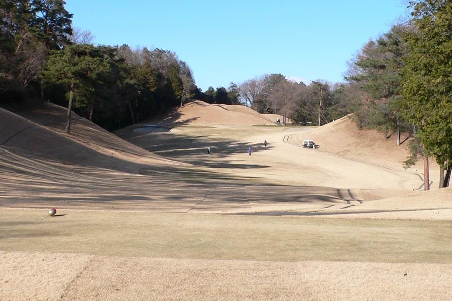 武蔵丘ゴルフコース OUTコース2番ホール