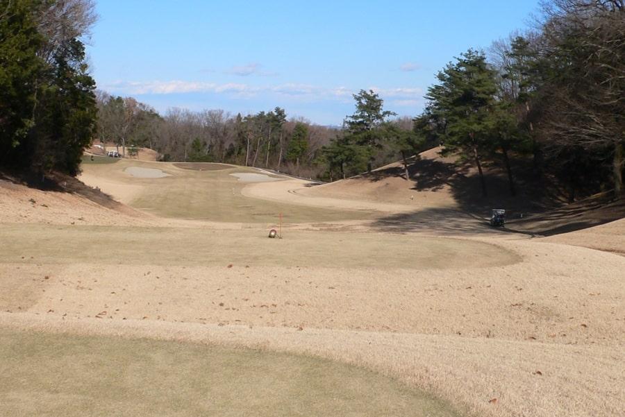 武蔵丘ゴルフコース OUTコース3番ホール