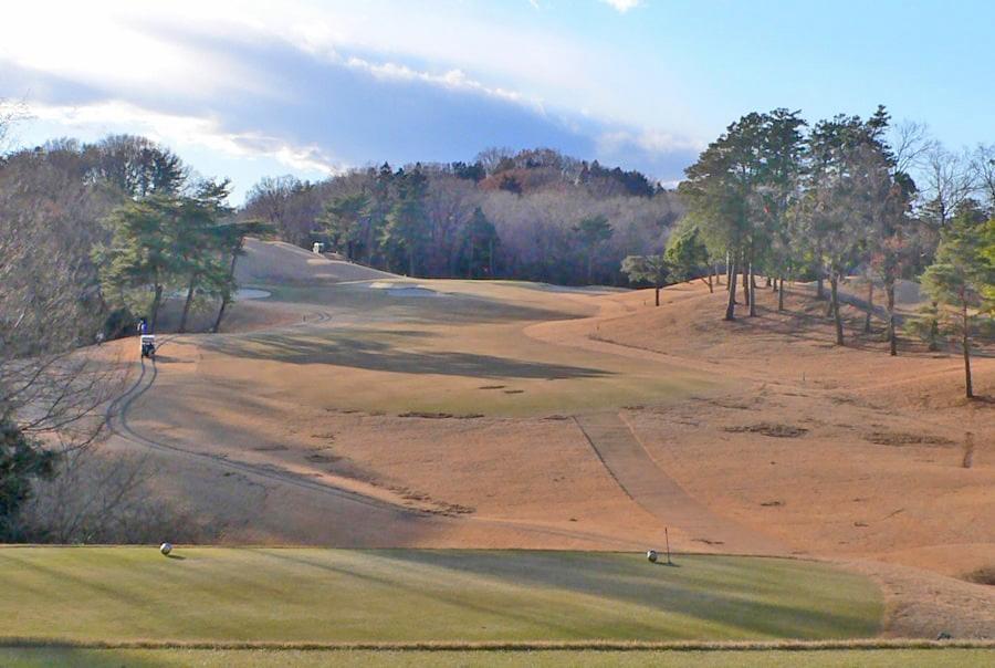 武蔵丘ゴルフコース OUTコース6番ホール
