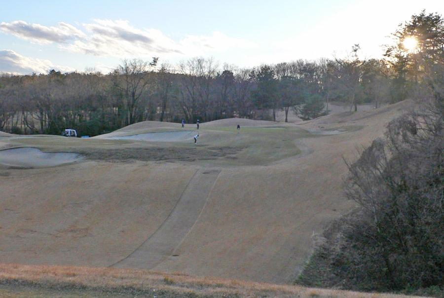 武蔵丘ゴルフコース OUTコース8番ホール
