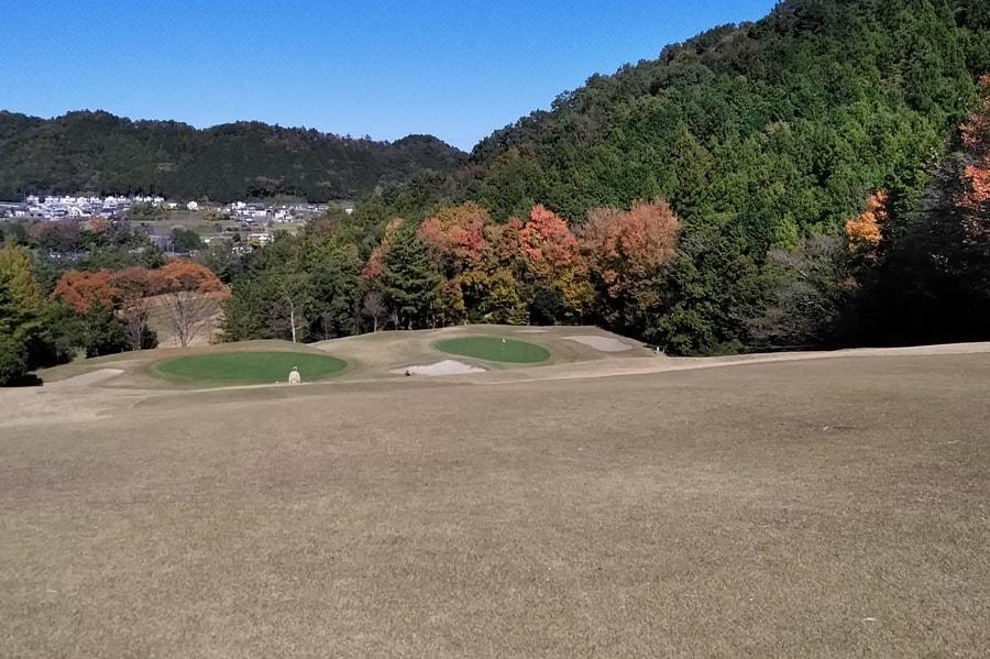 長竹カントリークラブ OUTコース6番ホール