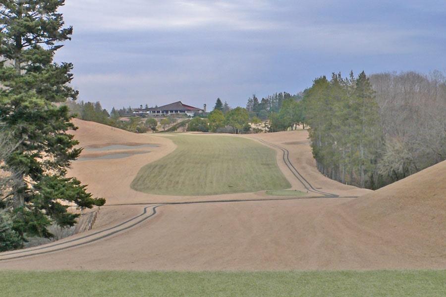 越生ゴルフクラブ INコース16番ホール