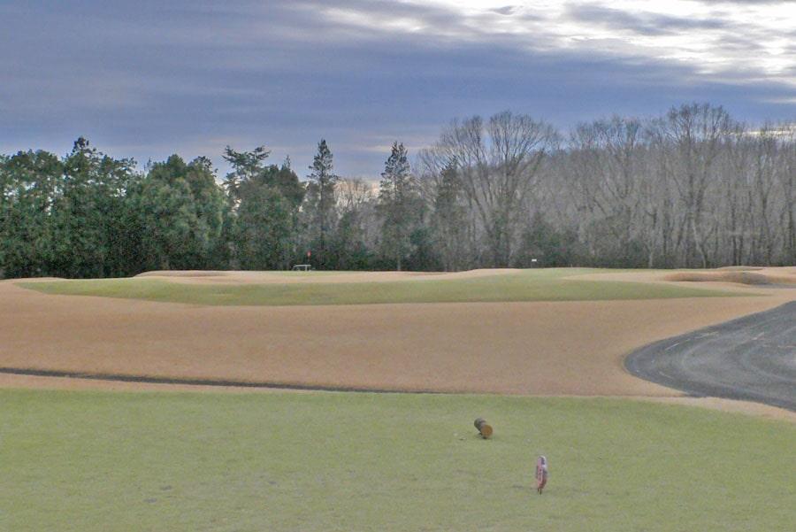 越生ゴルフクラブ INコース17番ホール