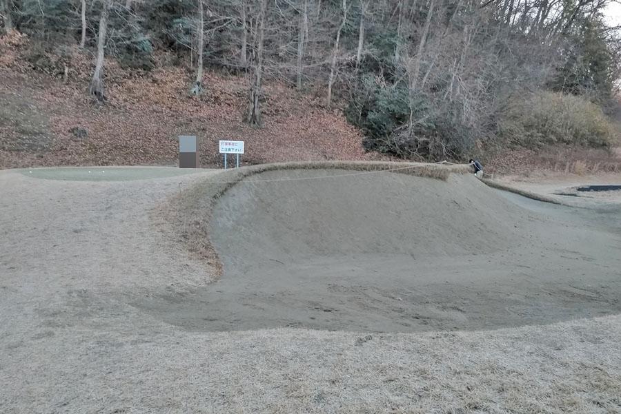 清澄ゴルフ倶楽部のアプローチ・バンカー練習場の写真