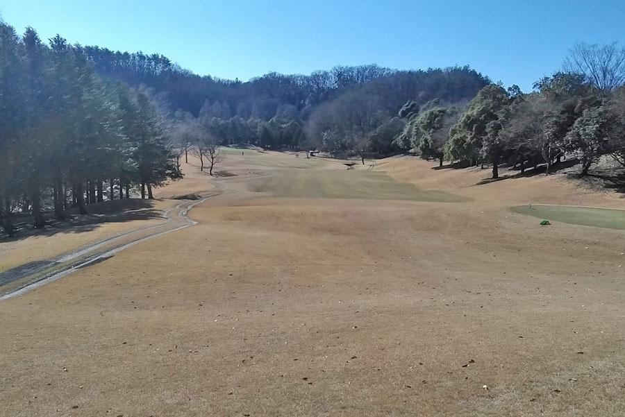 清澄ゴルフ倶楽部のIN11番ホール
