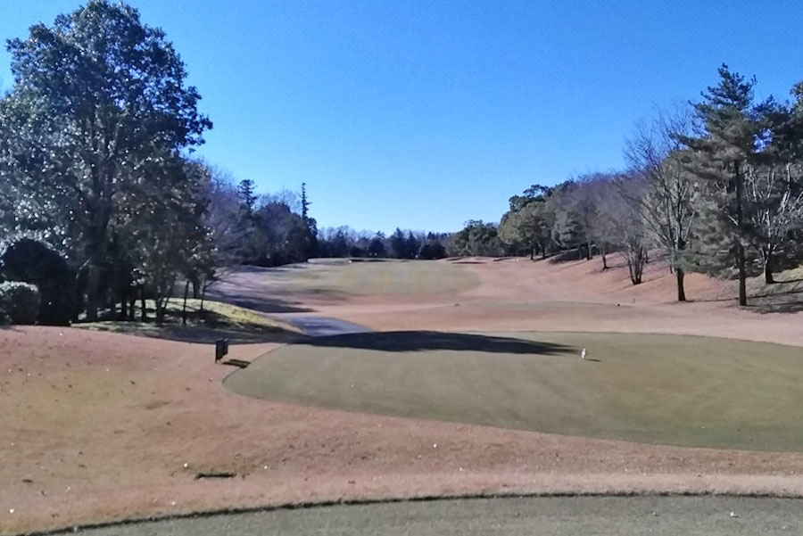 清澄ゴルフ倶楽部のOUTコース7番ホール