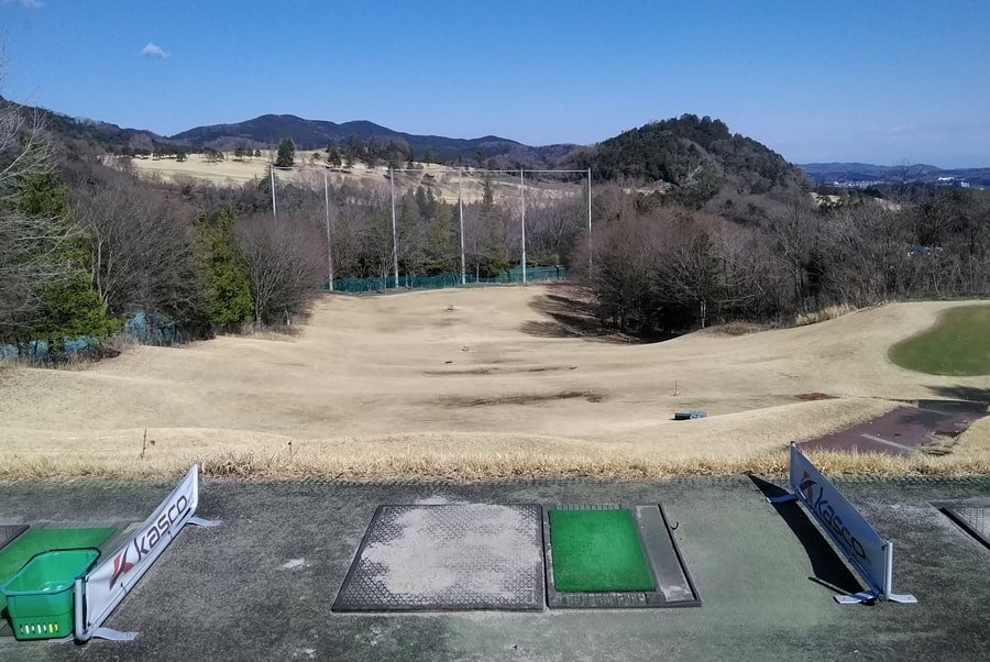 オリムピックナショナルゴルフクラブEASTの練習場