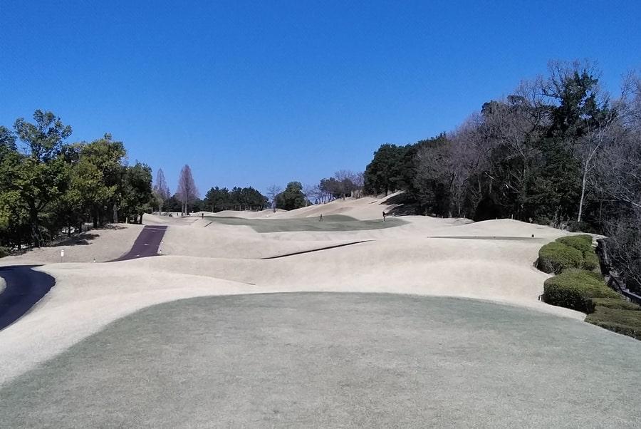 オリムピックナショナルゴルフクラブEAST オーキッドコース1番ホール