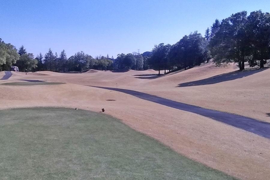 オリムピックナショナルゴルフクラブEAST オーキッドコース2番ホール