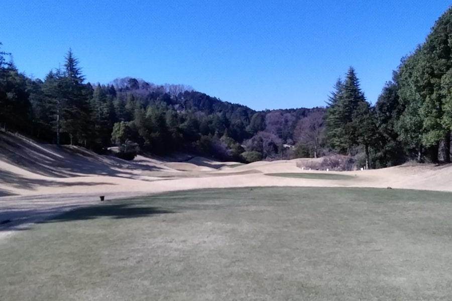 オリムピックナショナルゴルフクラブEAST オーキッドコース4番ホh-ル