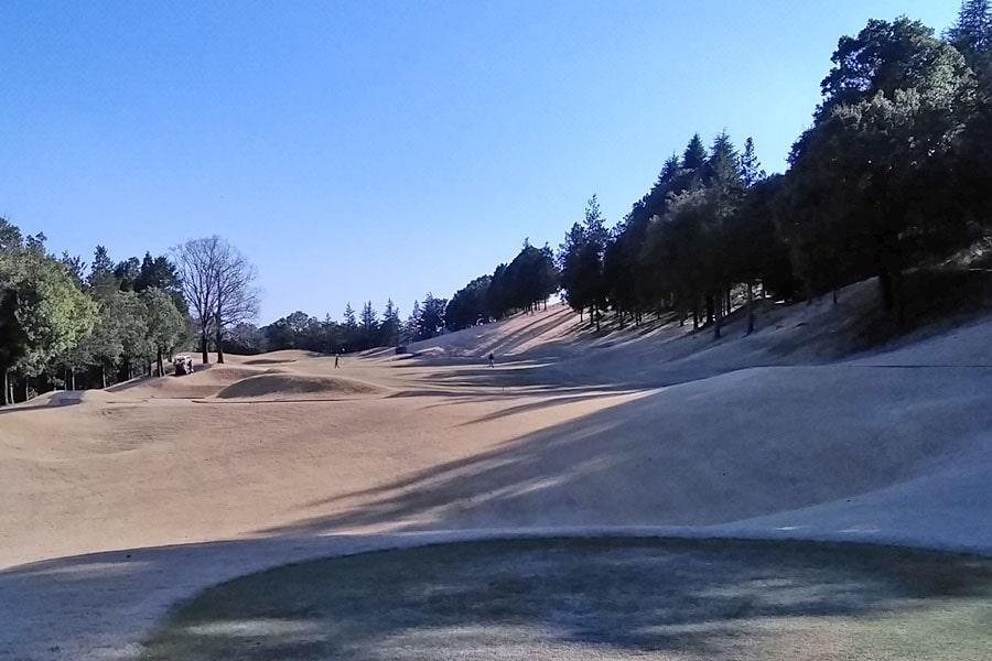 オリムピックナショナルゴルフクラブEAST オーキッドコース6番ホール