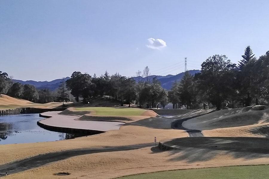 オリムピックナショナルゴルフクラブEAST オーキッドコース8番ホール