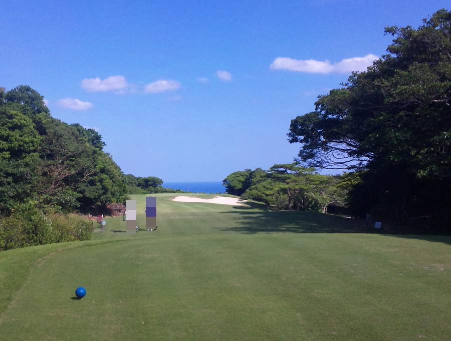 琉球ゴルフ倶楽部 南コース2番ホール