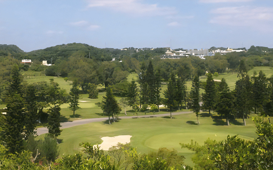 初めての沖縄ゴルフ旅行でプレーした琉球ゴルフ倶楽部