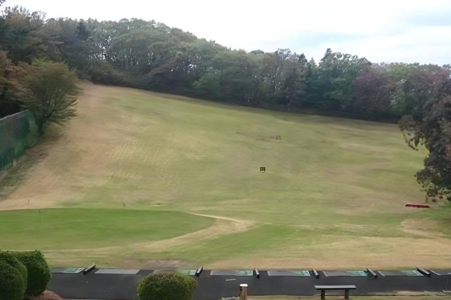 東京国際ゴルフ俱楽部のドライビングレンジ